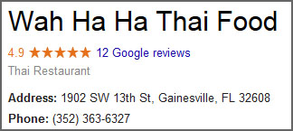 Reviews on Google+